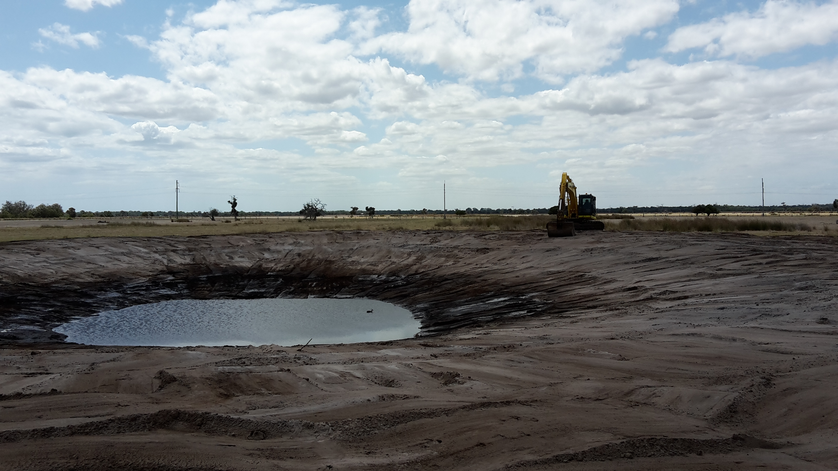 Clean out Dams