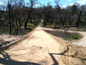 Limestone Driveway