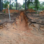 Electrical Trench Excavated by Dobson Excavations