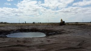Dobson Excavations Dam Construction and Clean Out Services
