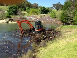 Dobson Excavations Dam Construction and Clean Out Services Pond Cleanout