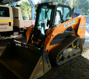 Dobson Excavations Tracked Bobcat and Wheeled Bobcat for Hire - Tracked TR270