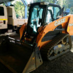 ONE OF THE EARTHMOVING AND EXCAVATION TRACKED BOBCAT HIRE FROM PERTH CONTRACTOR DOBSON EXCAVATIONS