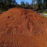 Dobson Excavations Gravel Materials - Red Gravel for Driveway