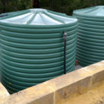 PLASTIC WATER TANKS SAND PAD INSTALLATION AND INSTALL