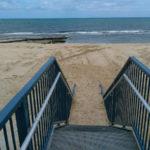 BEACH CONSTRUCTION FOR BEACH STAIRS ACCESS