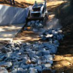 DRAINAGE & ROCK CONSTRUCTION BY DOBSON EXCAVATIONS
