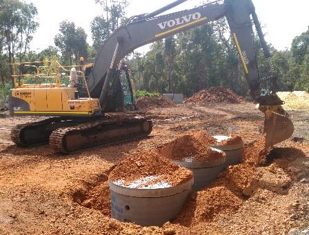21 Ton- Excavator- Hire-Perth