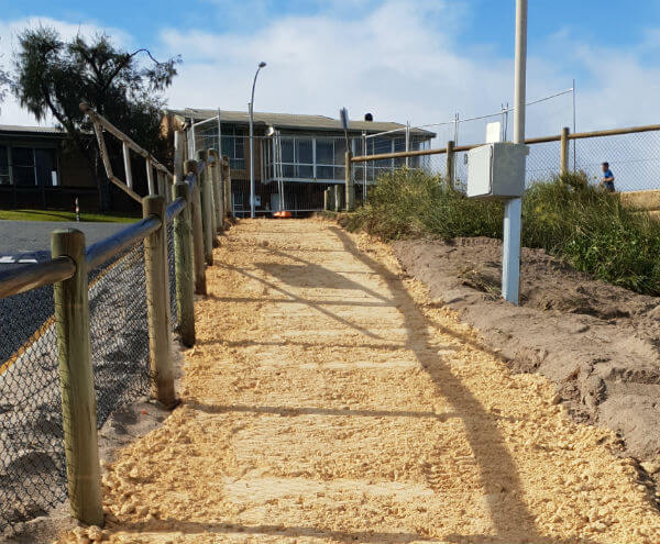 Dobson Excavations Beach Access Construction and Set-up