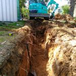 Dobson Excavations - Excavation Project for Electrical and Plumbing Trenches