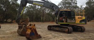 Dobson Excavations Excavation and Earthmoving Equipment Gallery - Backhoe and Excavator