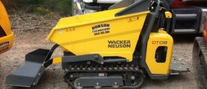 Dobson Excavations Excavation and Earthmoving Equipment Gallery - Portable Mini Equipments