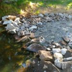 Dobson Excavations Excavation and Earthmoving Gallery - Stream Water Riffle Construction and Maintenance
