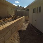 Dobson Excavations Limestone Constructioin - Granny Flat Wall Construction