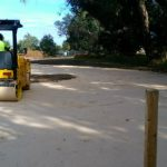 Dobson Excavations Limestone Driveway Construction and Compaction