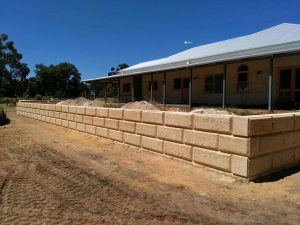 Dobson Excavations Limestone Retaining Walls