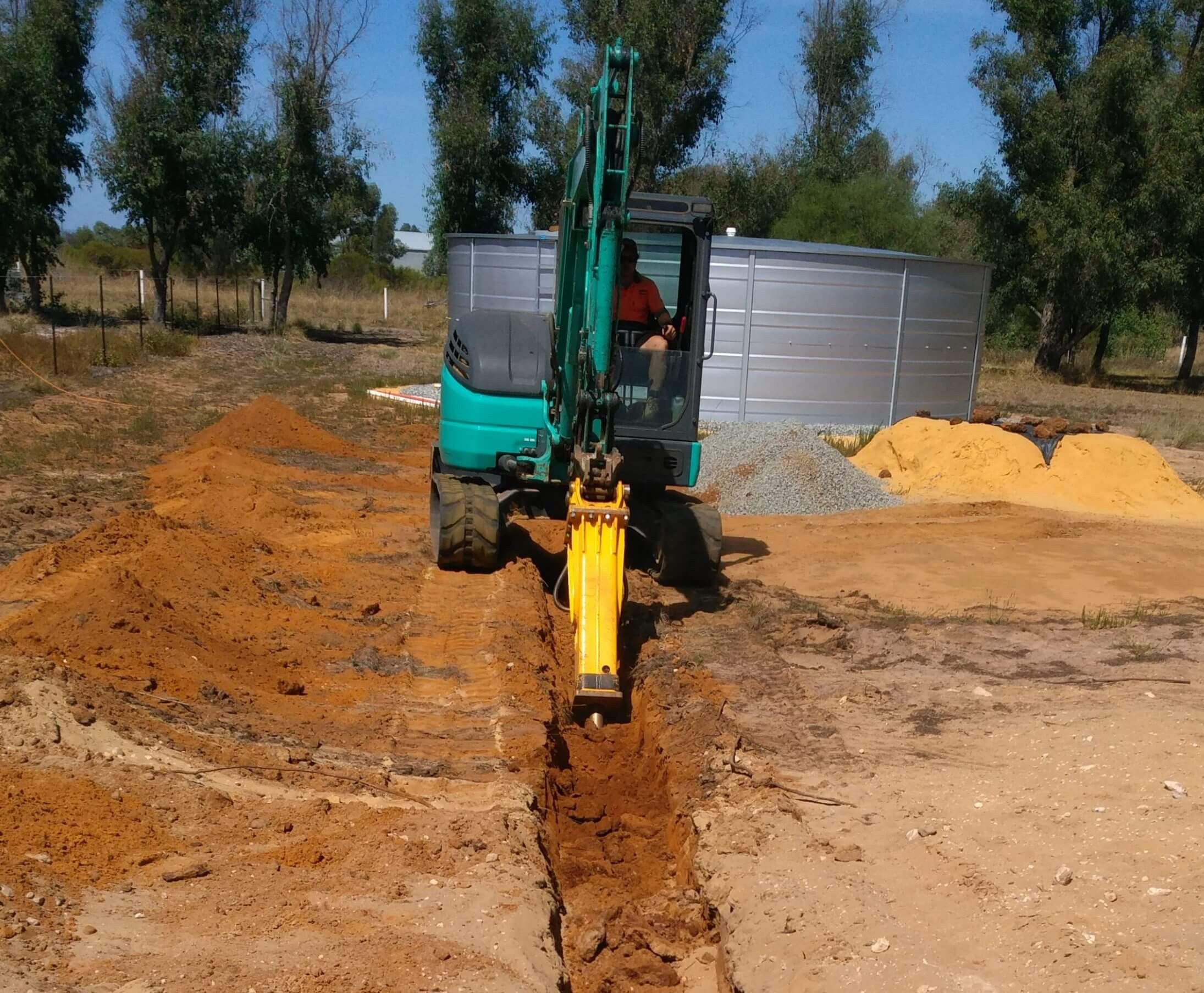 Dobson Excavations Perth Excavation Earthmoving Equipment Hole Drilling Machine