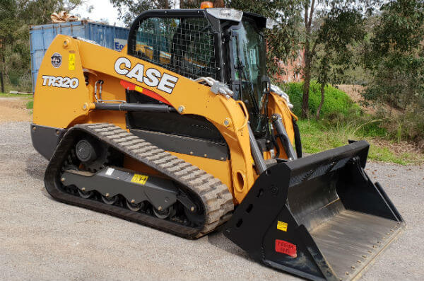 Dobson Excavations Perth Excavation Earthmoving Equipment TR320 Case Bobcat