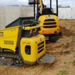 Dobson Excavations Tight Access Mini Dump Track and Excavator