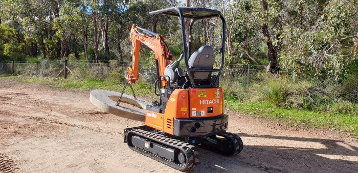 Dobson Excavations Tight Limited Access Machineries - Mini Backhoe, Mini Payloader Lifter