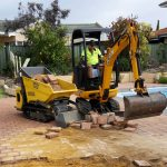 Dobson Excavations Tight Limited Access Machineries - Mini Hauler, Mini Payloader in Action