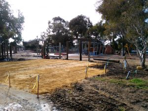 Dobson Excavations Toilet Block Sand Pad Construction
