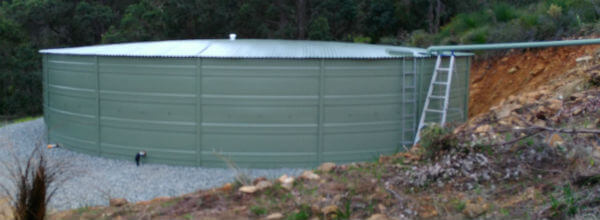 Dobson Excavations Water Tanks Water Tank Pad Installation