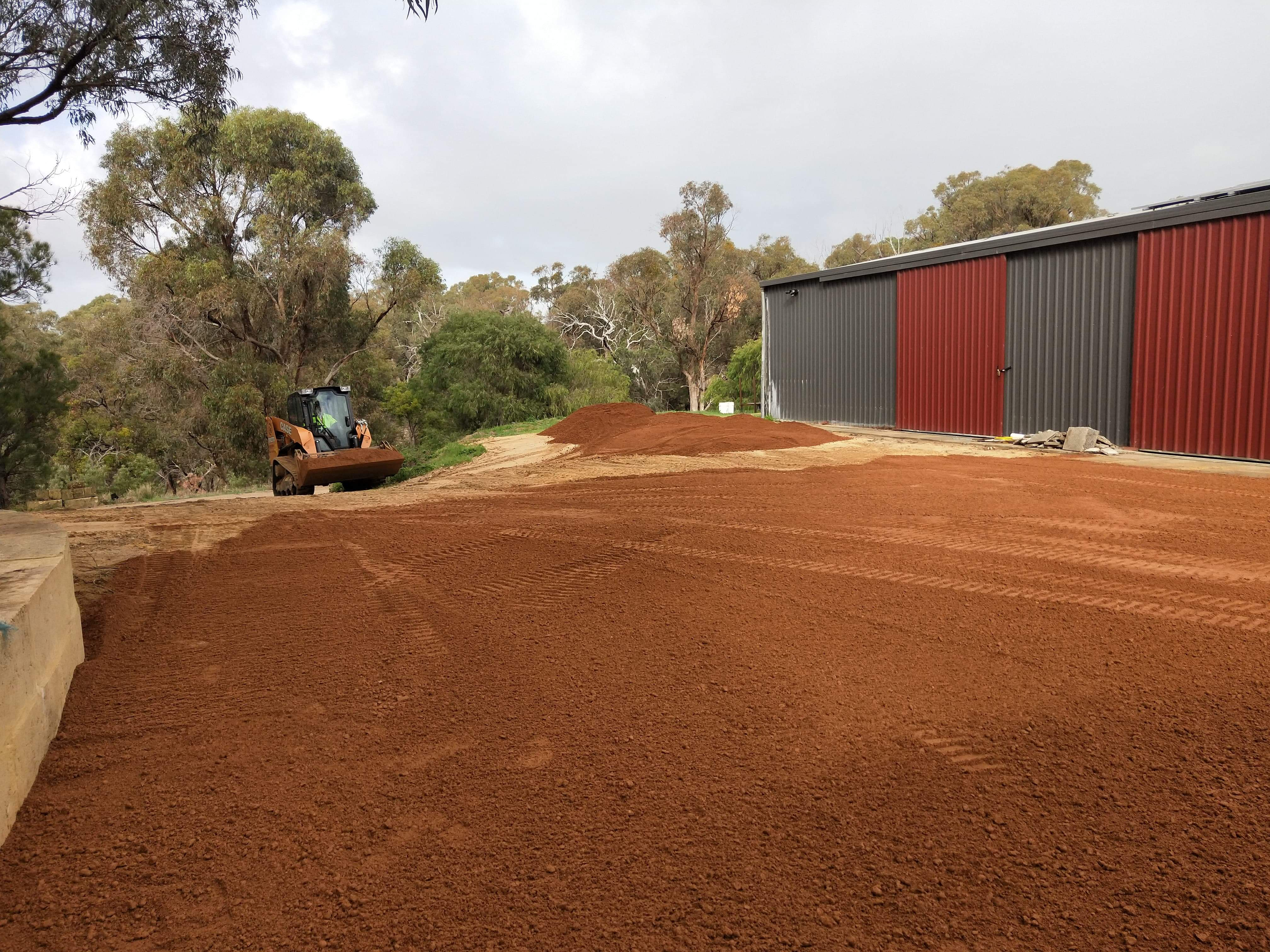 Red-Gravel- Driveway-Perth