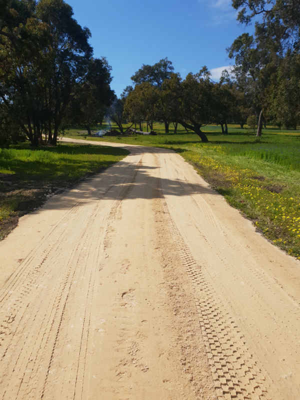 Limestone-Driveway