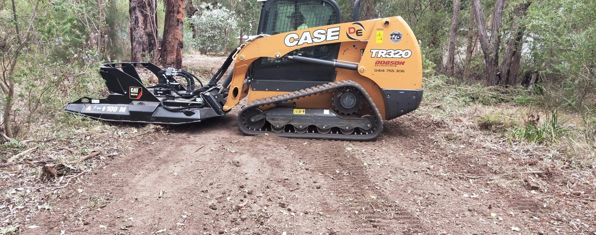 Slasher-Brush Cutter Hire with Bobcat