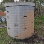 Concrete- Soak- Well-Tank